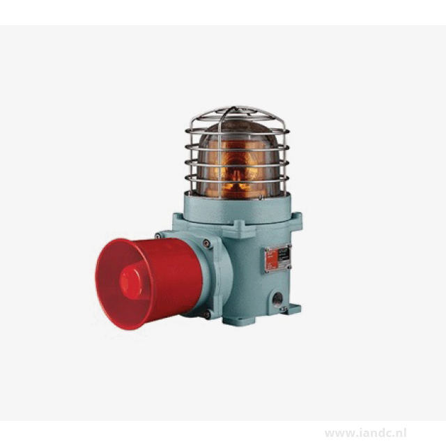 Explosion Proof Warning/Signal Light and Electric Horn Combinations